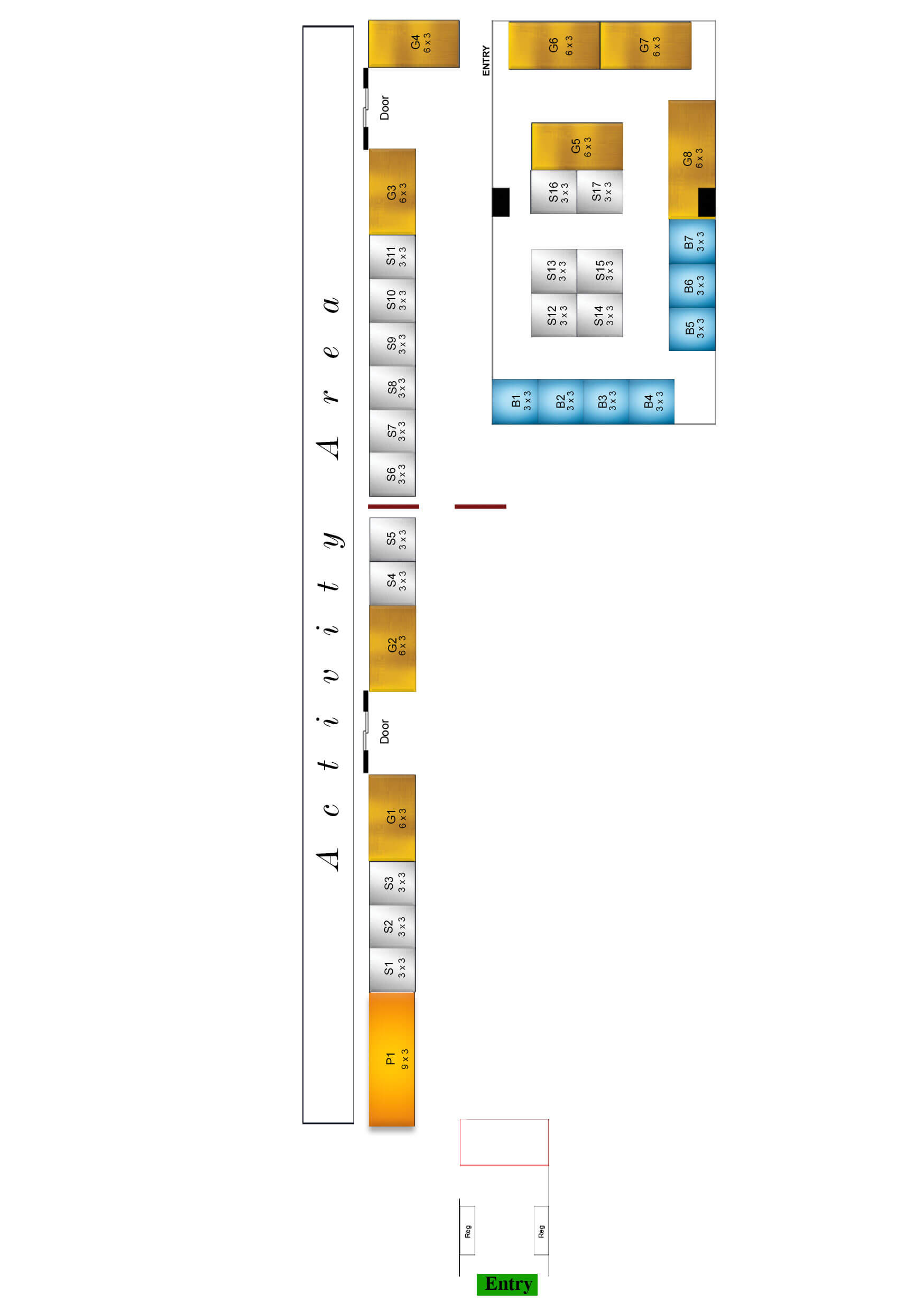 overall layout plan of next gen boarding school expo